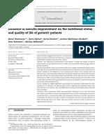 jurnal Influence of Denture Improvement on the Nutritional Status