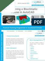 bioclimatic house training programme