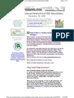 Email Blast December 18,2008