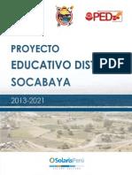 Guia Proyecto Educativo Distrital Socabaya Arequipa