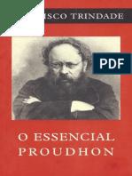 O Essencial Proudhon_Francisco Trindade