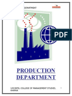 3 Production Department