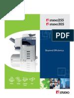 E-STUDIO255 305 Brochure
