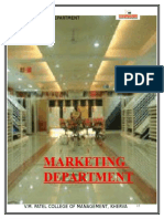 5 Marketing Department