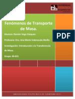 Principios y Fundamentos de La Transferencia de Masa