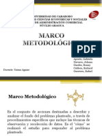 Marco Metodológico Grupo 2