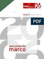 Documento Marco Conferencia Politica PSOE