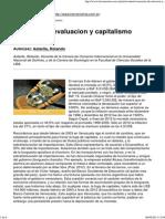 Venezuela, Devaluacion y Capitalismo Rentistico