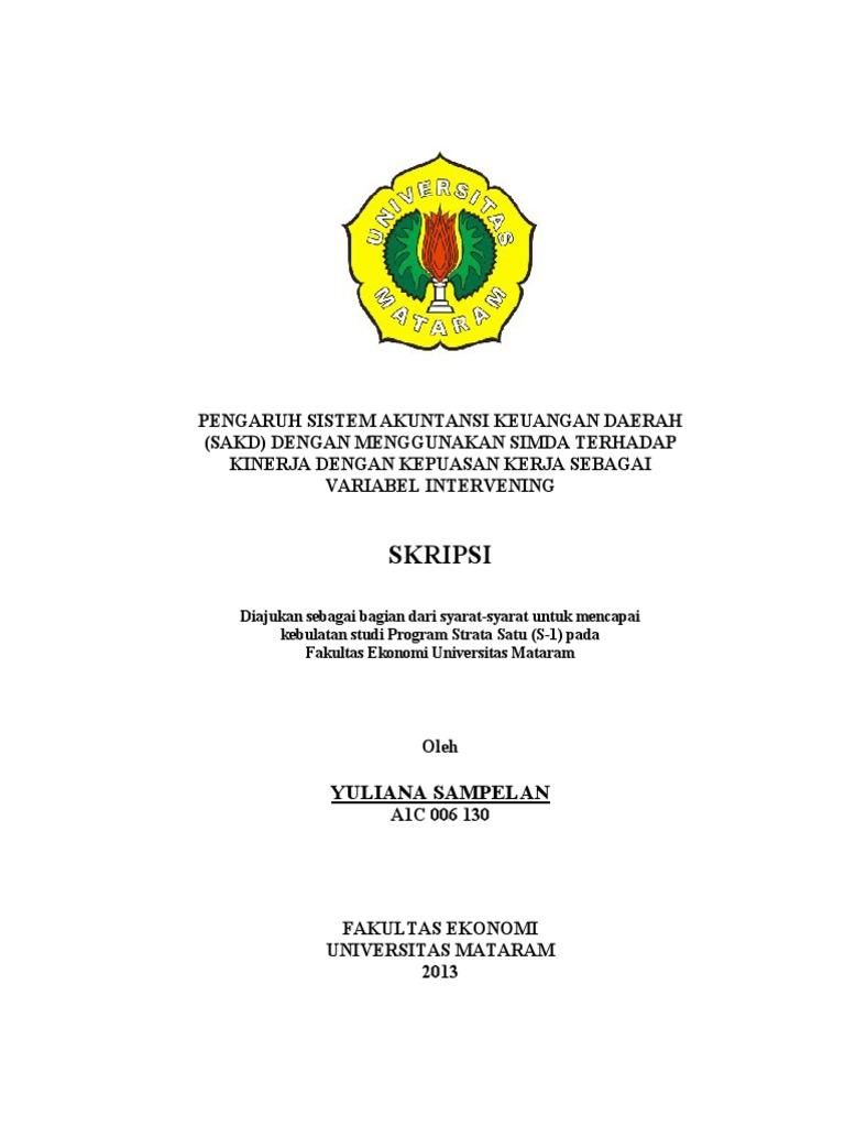 Contoh Skripsi Akuntansi Keuangan Pdf Contoh Soal Pelajaran Puisi Dan Pidato Populer
