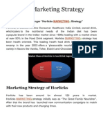 Horlicks Marketing Strategy