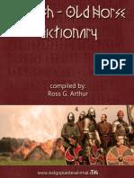 Diccionario Ingles-noruego Antiguo (Ross G. Arthur)