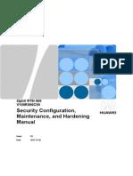 OptiX RTN 900 V100R006C00 Security Configuration_ Maintenance_ and Hardening Manual 03