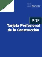 Tarjeta de Construcción