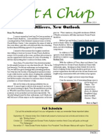 Fall 2014 Audubon Newsletter
