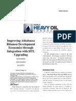 Improving Atabasca Bitumen
