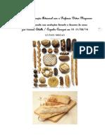 Curso de Panificação Artesanal Com o Prof Didier Niepceron - Cozinha Caraguá