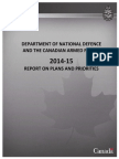 2015-2014 Canadian defence policies