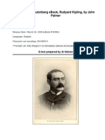 Rudyard Kipling by Palmer, John, 1885-1944