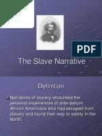 the-slave-narrative
