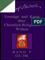 GA 346 - Rudolf Steiner - Vorträge und Kurse über christlich-religiöses Wirken - BAND-5