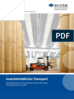 Transport Im Betrieb (Aleman)