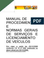 Manual de Procedimentos. VERSÃO 03
