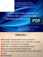 Tratamentul Local Si General Osteomielita Acuta Si Subacuta