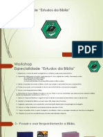 I Workshop - 1a Parte (Web)