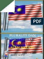 Pluralistik Di Alam Melayu