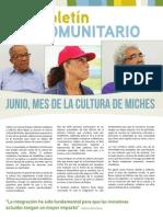Boletín Comunitario 19