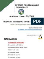 1 M I Introducción Al GNU Linux