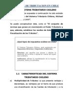 Sistema de Tributacion en Chile