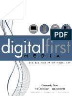 2014 Rate Card, Digital First Media