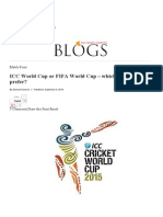 ICC World Cup or FIFA World Cup – Which Do You Prefer_ – the Express Tribune Blog