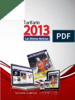 Tarifario 2013 LUN
