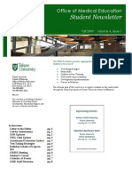 OME Student Newsletter-Fall2009