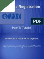 Associate Membership Registration-Officials