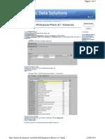 Www.sd Solutions.com SAP HR Employee Photos v4.7