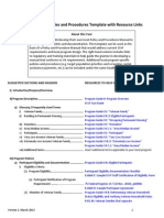 SSVF Policies Procedures Template With Resource Links Final