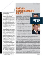 BMC-32 Endorsement R.I.P.--journal of Commerce 100812