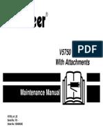 v5750maintance Manual