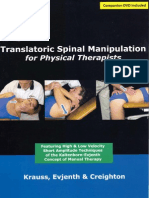 Translatoric Spinal Manipulation for Physical Therapists, 2006