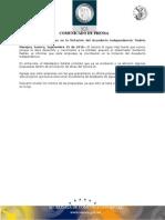 15-09-2010 El Gobernador Guillermo Padrés en entrevista aseveró que el Sonora SI sigue mas fuerte que nunca, porque le dará desarrollo y crecimiento a la entidad, al informar que 7 empresas se inscribieron en la licitación del acueducto Independencia. B091063