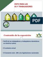 Caracteristicas Del Trabajo Domestico y Convenio