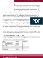The GMAT Uncovered (First 5 Pages)