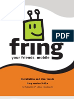 Fring User Manual