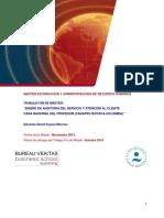 TFM_Diseño de Auditoria Del Servicio y Atención Al Cliente_Noviembre 2014_Suarez_Moreno.doc