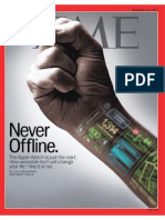 Time Magazine - Never offline