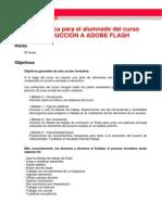 GUIA de ESTUDIO Introduccion a Adobe Flash