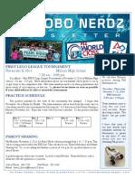 nerdz newsletter 1